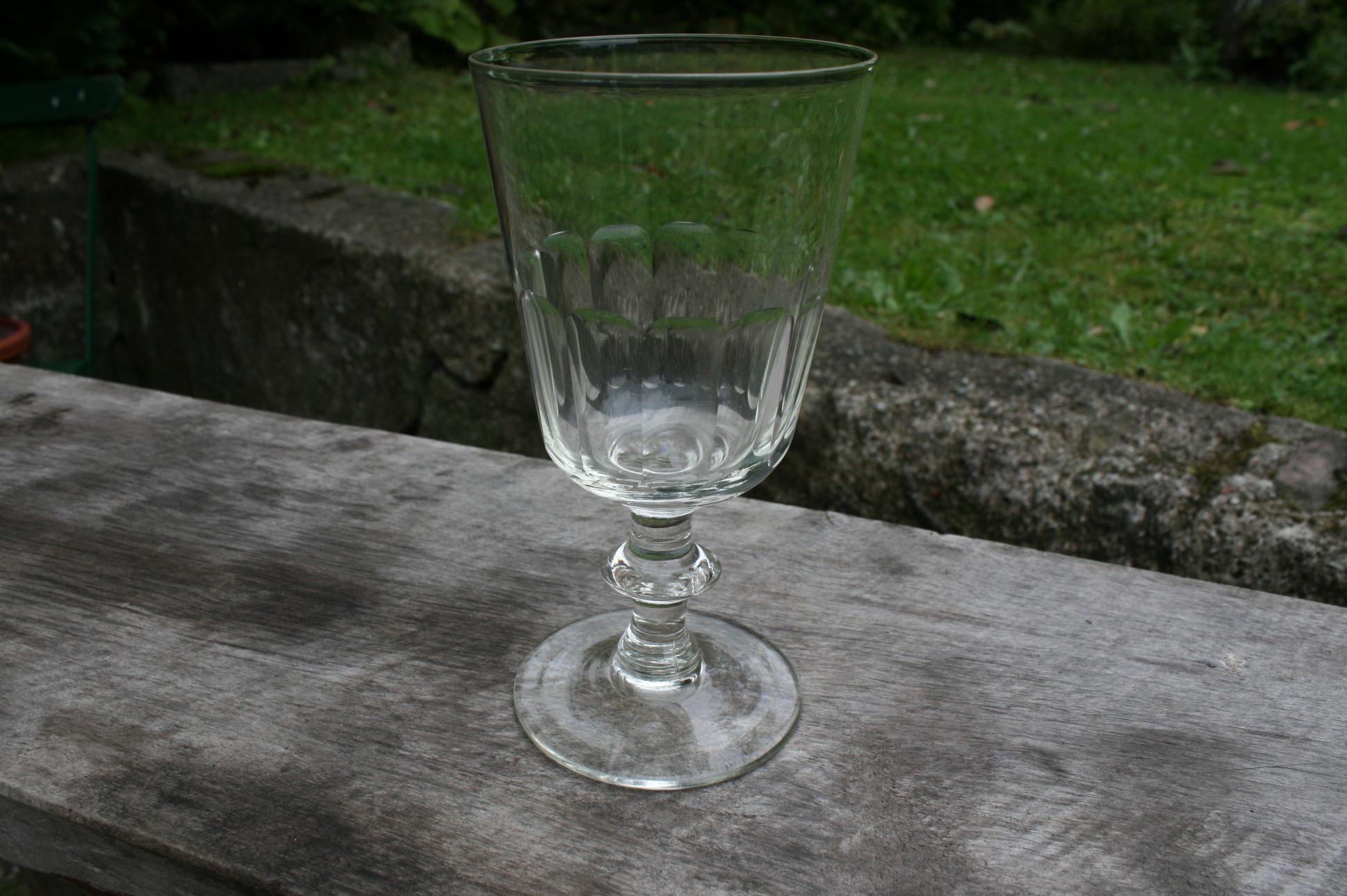 Fint gammelt Chr. d. Vlll glas berlinois.