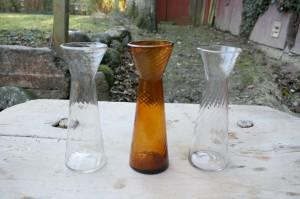 Danske hyazintglas zwibel, ca. rav 23,2 klare 22,7 cm høje.