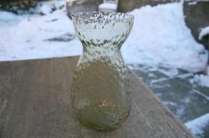 Fint lyst ravfarvet hyacint glas fra Fyns / Kastrup glasværk.