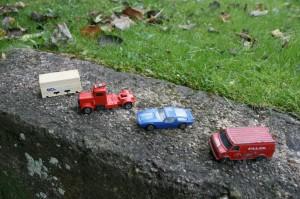 Div. legetøjsbiler.