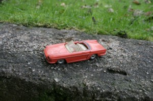Legetøjsbil fra Solido France.