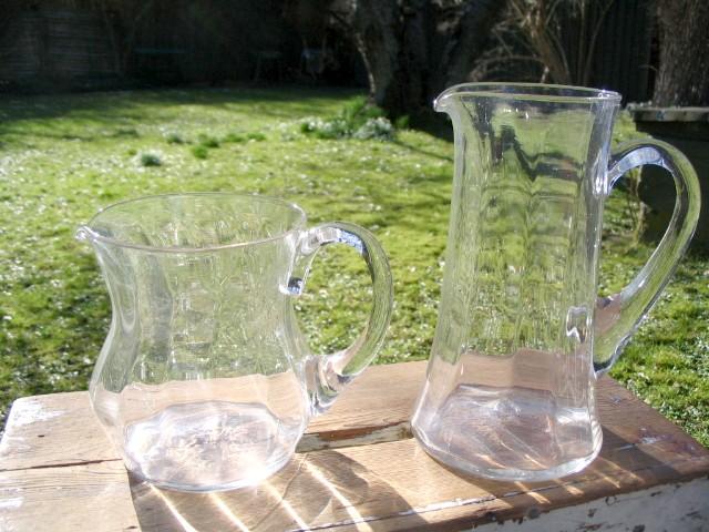 Glaskande antik, den høje er solgt.