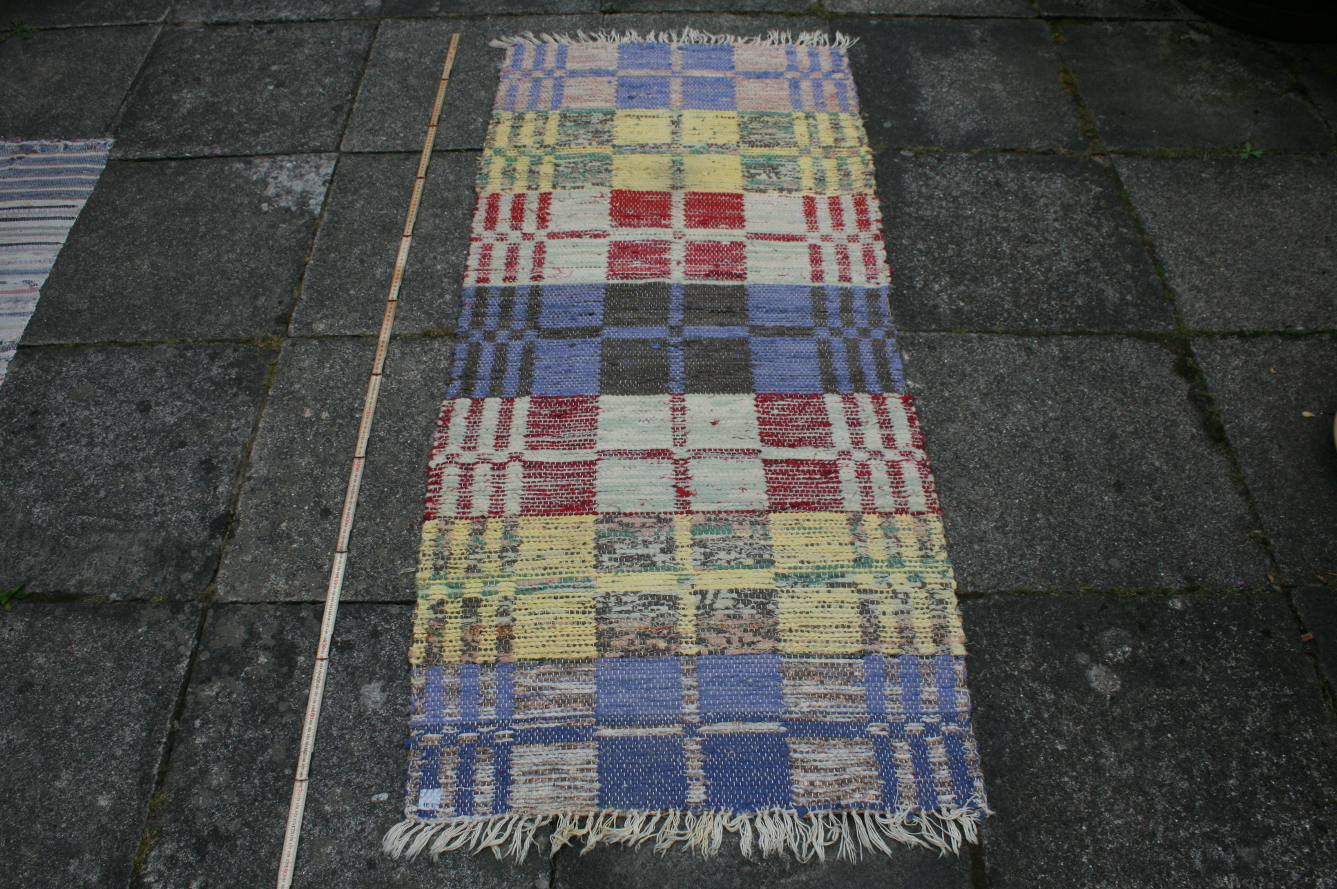 Kludetæppe nr. 151, 165x72 cm