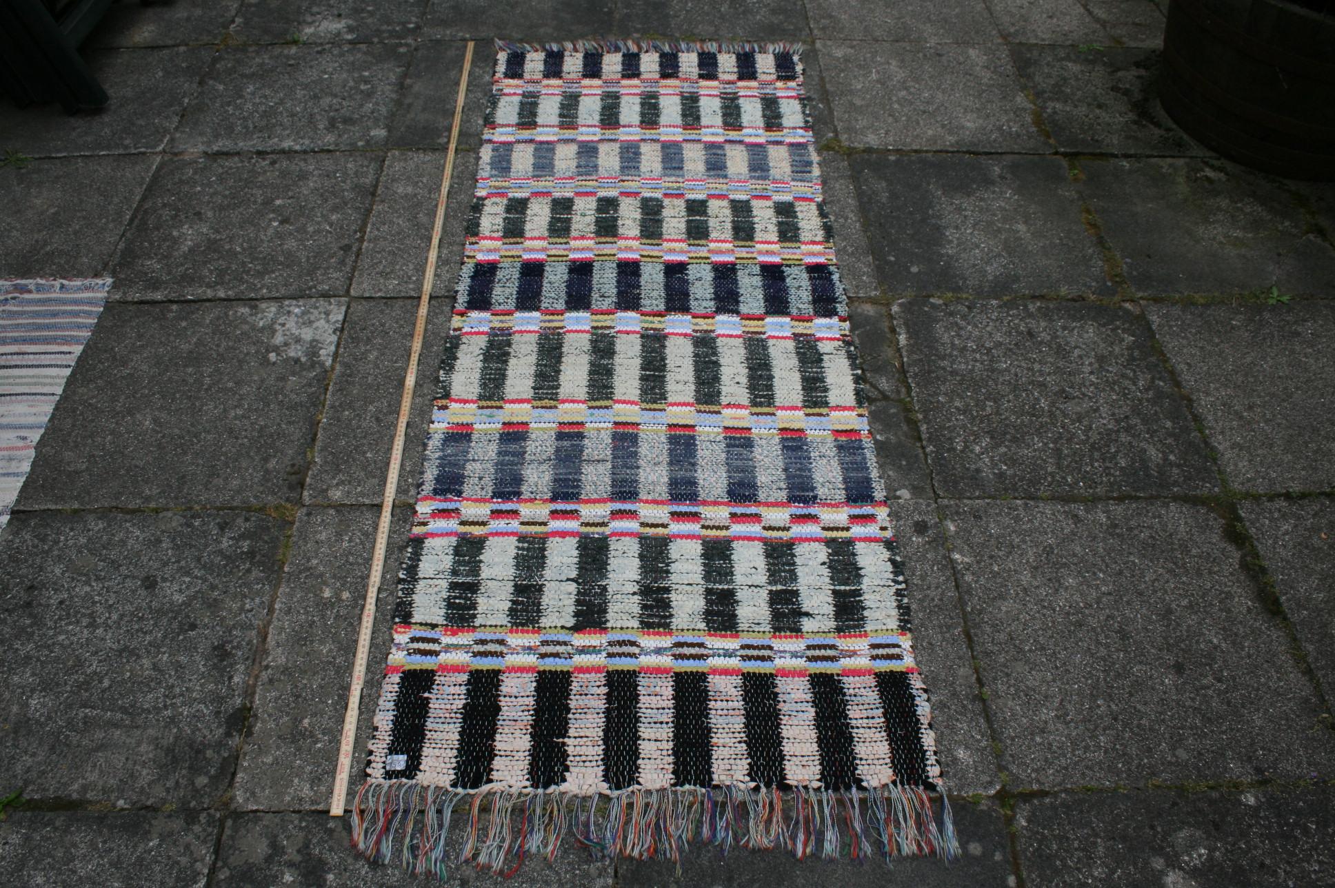 Kludetæppe nr. 158, 190x73 cm