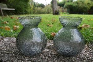 Gamle hyacintglas fra Kastrup.